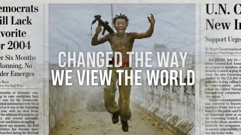 Foto: Chris Hondros muutis seda, kuidas me maailma näeme. /kaader filmist/