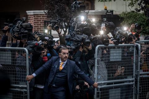 """Foto: Chris McGrath, """"Jamal Khashoggi kadumine"""""""
