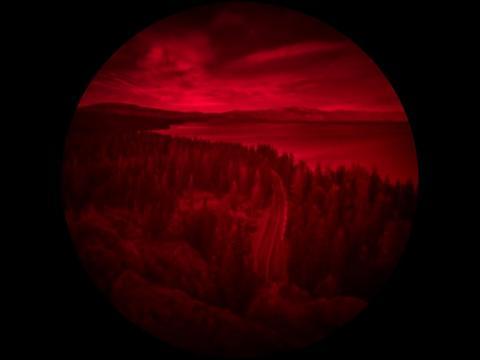 Foto: Vaade Eagle Rocki mäele - digitaalse pinhole foto on teinud Ryland West näitamaks Keatsi ühe kaamera vaatenurka. /dpreview.com/