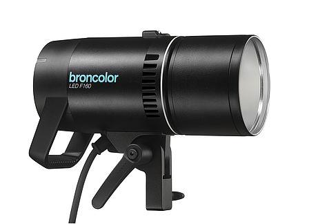 Foto: Broncolor LED F160. Allikas: broncolor.swiss