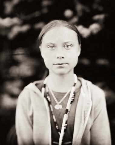 Greta Thunbergi portree. Foto: Shane Balkowitsch