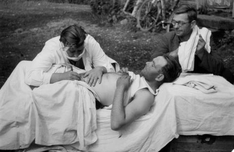 Foto: Lavastusmäng Vormsil (1949), erakogu